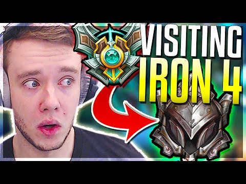 REDMERCY VISITS IRON 4 FOR THE FIRST TIME What Does It Look Like? - League of Legends