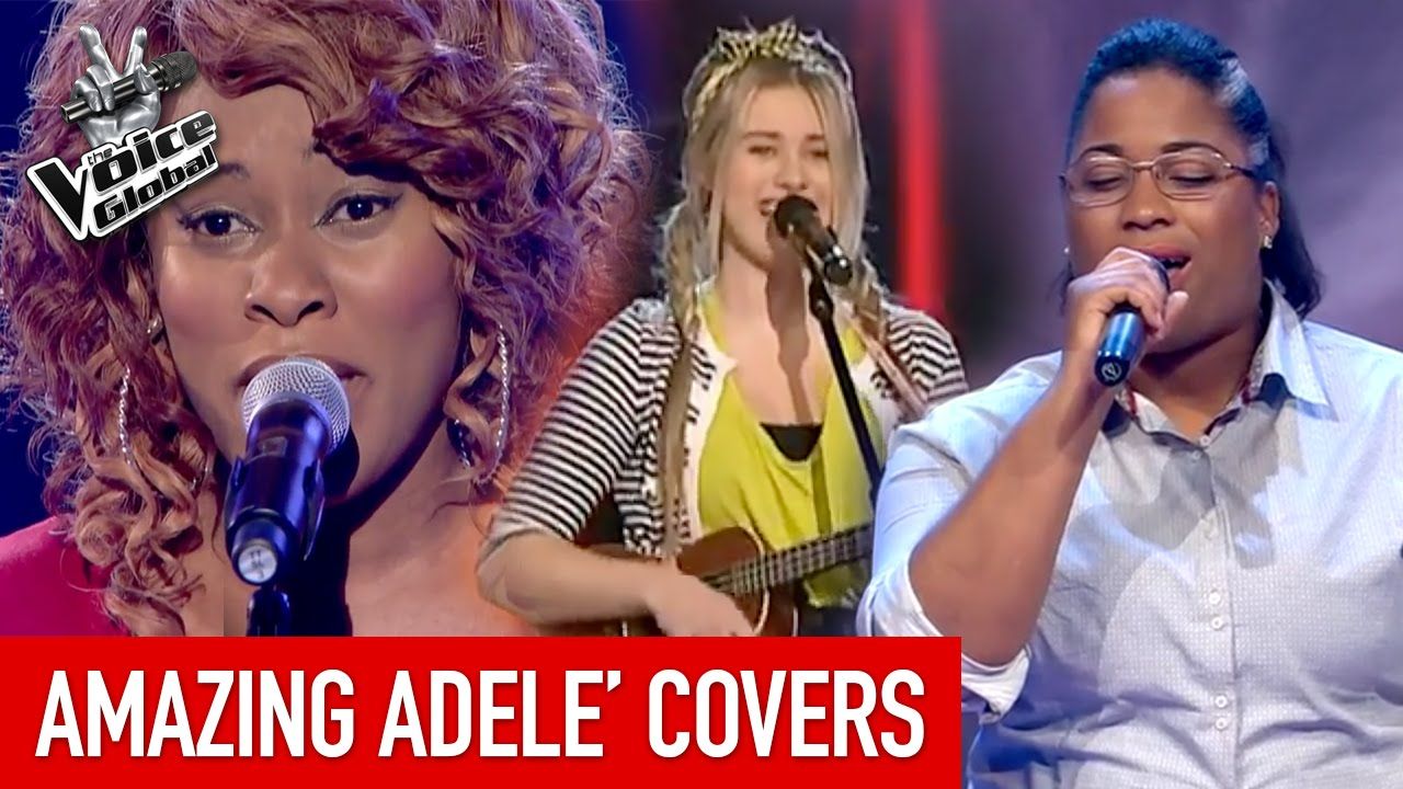AMAZING 'ADELE' Blind Auditions - YouTube