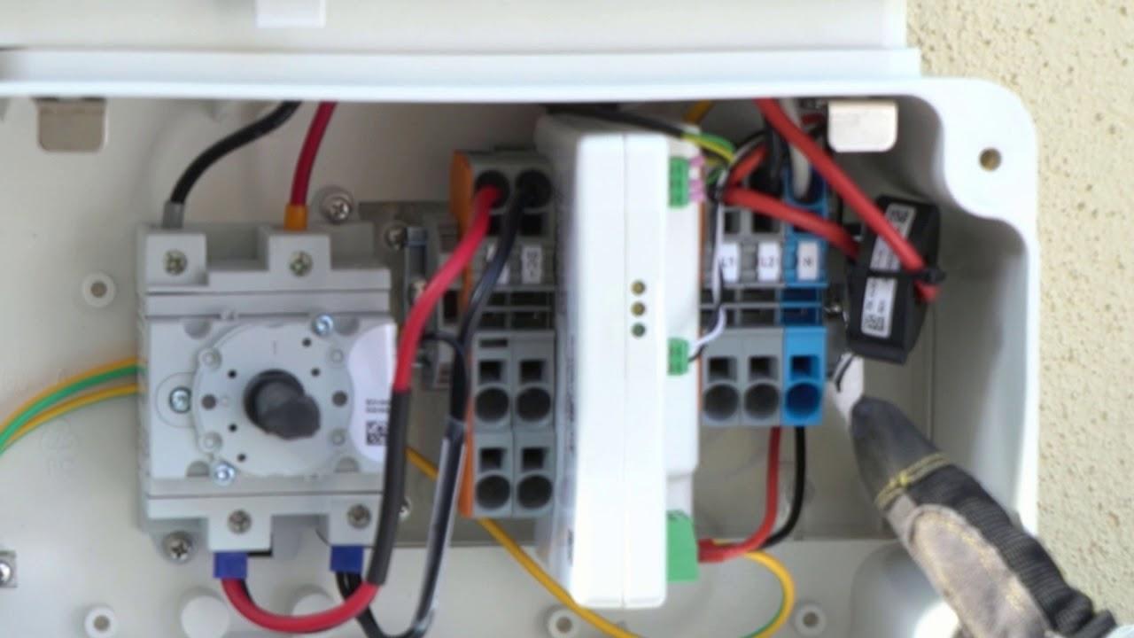 solar snack solar edge hd wave inverter dc \u0026 ac wiring terminals 110 House Wiring