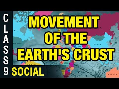 Movement Of The Earth's Crust   9th Class Social   Digital Teacher