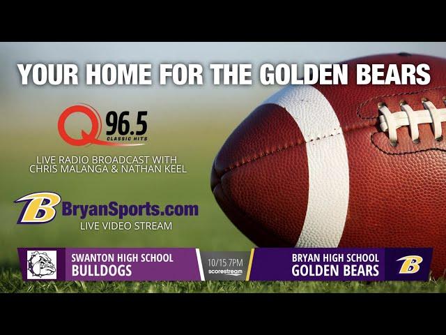 2021 Golden Bear Football - Bryan vs. Swanton