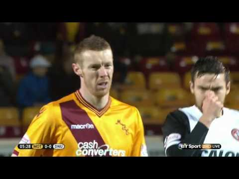 Motherwell v Dundee United 11/3/16 First Half