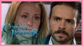 Resumen: Mundo le confiesa su secreto a Sandra | Corona de Lágrimas - Tlnovelas