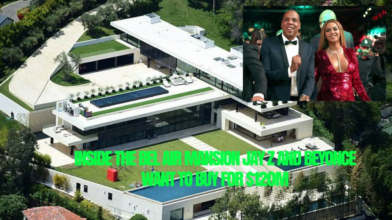 Inside The Bel Air Mansion Jay Z And Beyonce Want To Buy For 120m Youtube