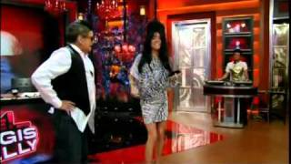 jersey shore skit live with regis and kelly halloween show 2010