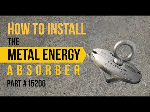Metal Energy Absorber HLL System | How to Install