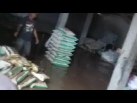 Banjir Sedada Orang Dewasa, Beras Warga Wates Selatan Sebanyak 5 Ton Rusak Terendam