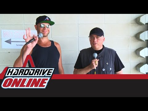 Adam Dutkiewicz From Killswitch Engage - Talks With Lou Brutus At Sonic Temple | HardDrive Online