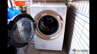 [開箱文]TOSHIBA 滾筒式洗衣機(TWD-DH120X5)測試