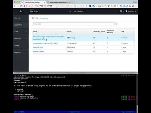 Invoking a build and release pipeline for Tibco Business Works Container Edition on OpenShift