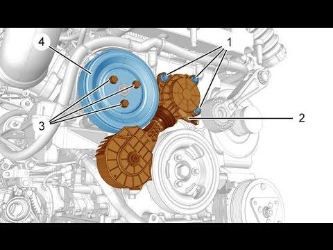шкив помпы / Peugeot 308 307 301 3008 207 208 EP6