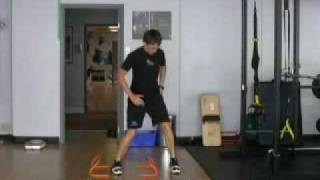 London, Ontario Hockey Training - Micro Hurdle Agility- Step Step Hop