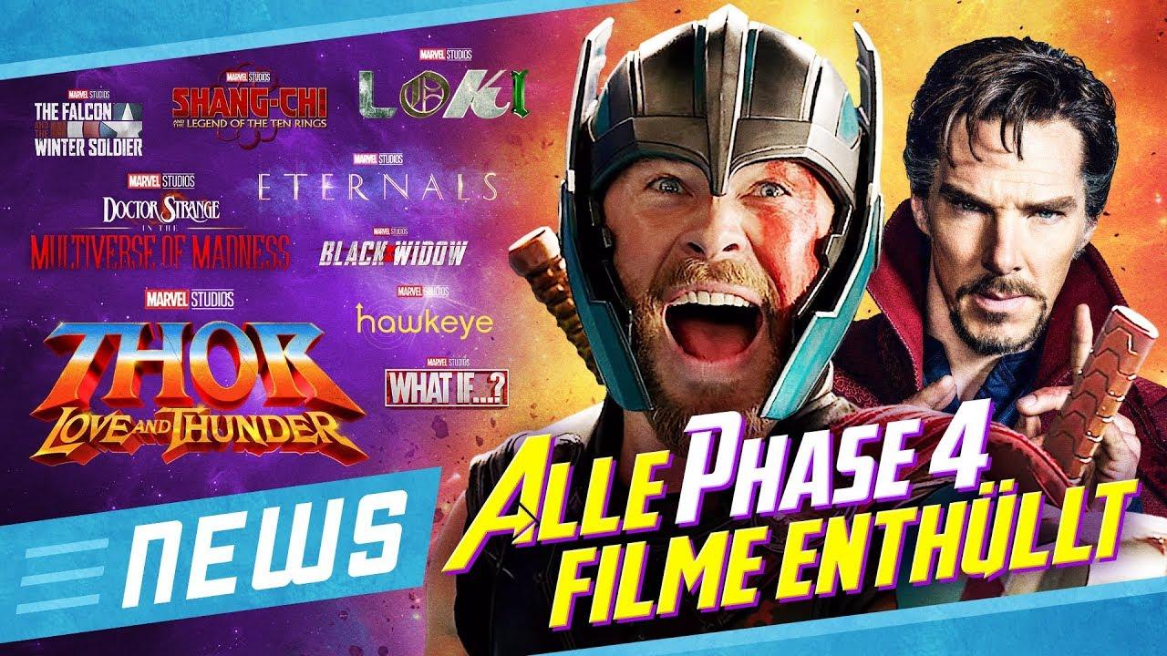Marvel enthüllt alle Filme & Serien für Phase 4 bis 2021 # ...