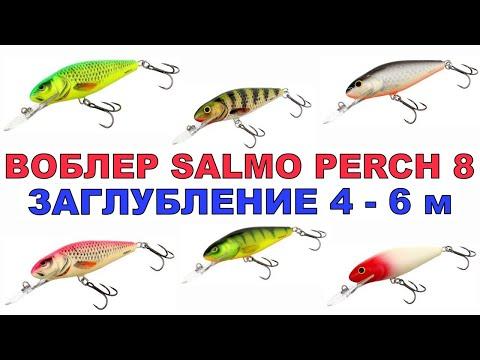 Воблер Salmo Perch 8.Самый уловистый воблер.Новинки Воблера.Воблеры для троллинга.#Рыбалка