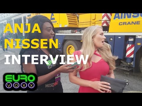 We nearly killed Anja Nissen!! Denmark 2017 interview!! #LondonEurovisionParty #Eurovoxx