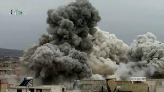 Бомбардировки Сирии - Сирийской Оппозиции Башаром Асадом при поддержке России и Ирана.