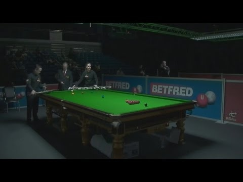 Lee Walker v Reanne Evans R2 World Championship Qualifiers 2017 Session 1