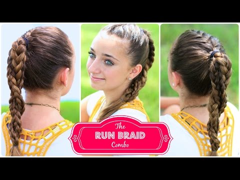 The Run Braid Combo Hairstyles For Sports YouTube