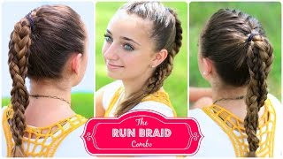 The Run Braid Combo | Hairstyles for Sports