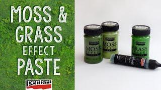 Moha és pázsit effekt paszta // Moss and Grass effect paste