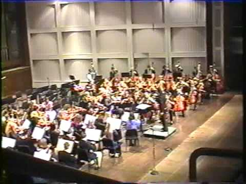 1998 Senior All-State Strings Orchestra, South Carolina - Andrew Anderson Viola