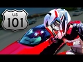 California Highway Traffic Rider Wheelies Fastest Bike Fastest Motorcycle - BMW S1000RR Max Wrist