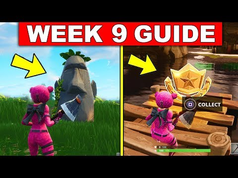 Fortnite WEEK 9 SEASON 5 CHALLENGES GUIDE! – FOLLOW THE TREASURE MAP FOUND IN SHIFTY SHIFTS