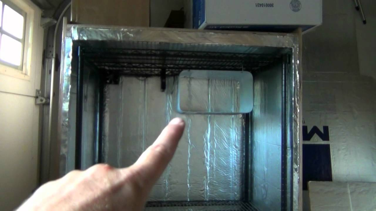 HBW: Refrigerated Fermentation Chamber & Beer Cellar Cabinet - YouTube