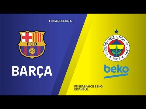 FC Barcelona -Fenerbahce Beko Istanbul Highlights | Turkish Airlines EuroLeague,
