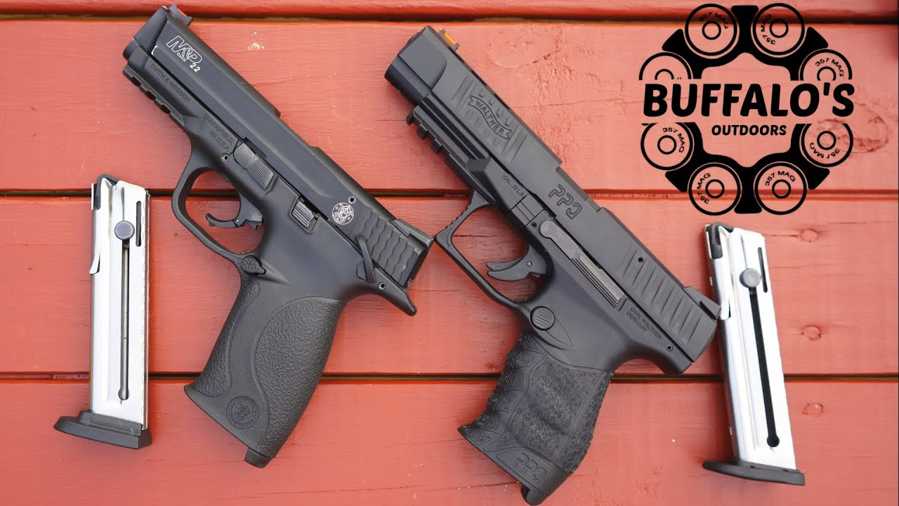 S&W M&P 22 vs Walther PPQ 22 (tabletop discussion)