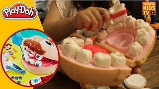 치카치카 양치질 치과놀이 플레이도우 l Play Doh Doctor Drill N Fill Playset Dentist l 치과 l 병원놀이