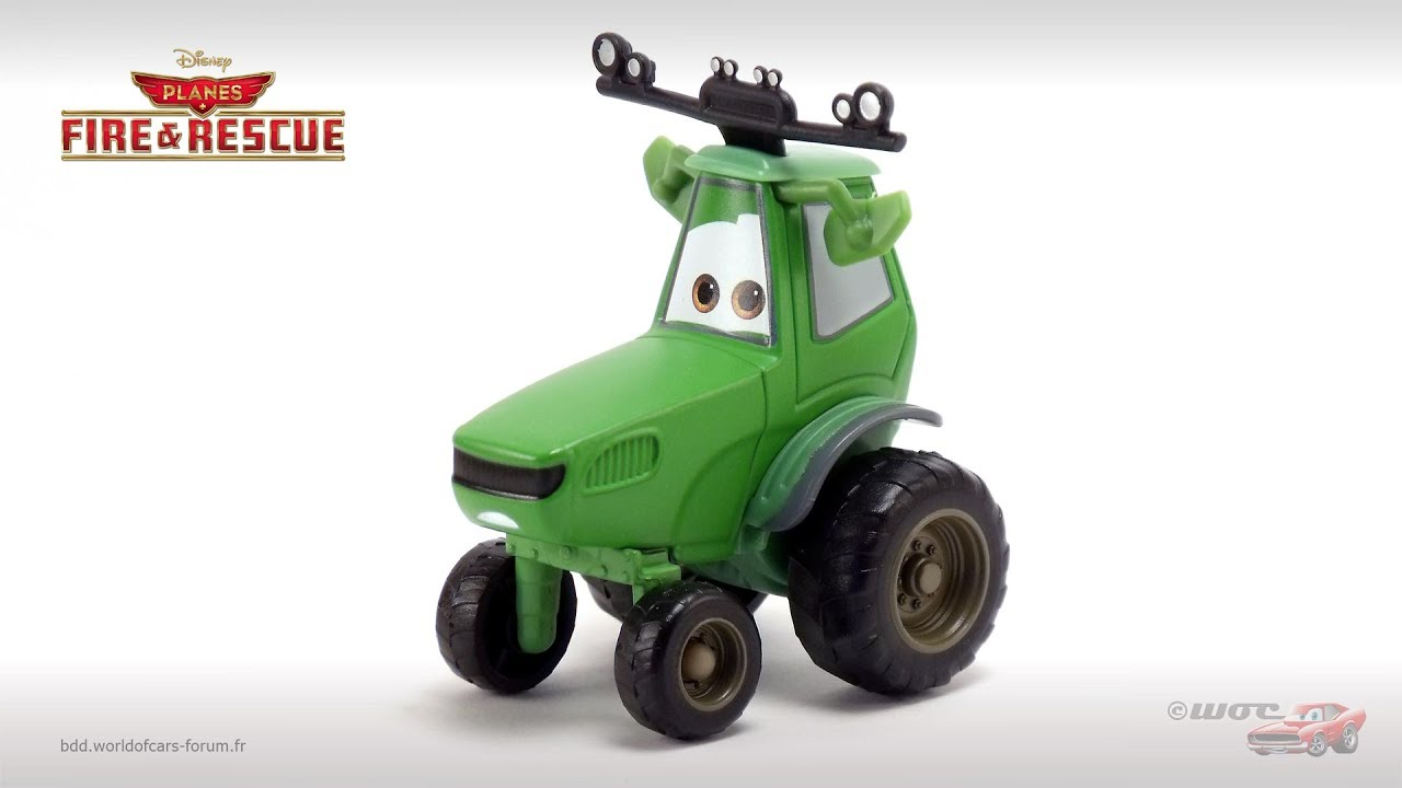 Tractor From Cars : Bdd world of cars tractor buck youtube