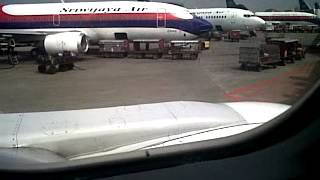 prepared take off sriwijaya air
