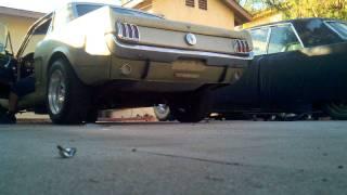 1965 Mustang 289 Flowmaster exhaust