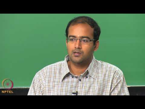 Micro and Nano scale energy transport-Week08lec01