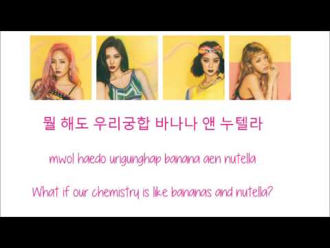 Wonder Girls - Sweet & Easy [Hang, Rom & Eng Lyrics]