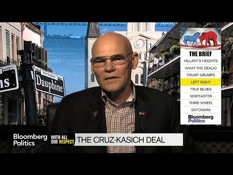 Carville on Kasich-Cruz Pact: Can't Blame Them For Trying