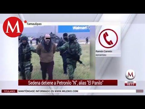 Sedena detiene a Petronilo 'N', alias 'El Panilo' en Tamaulipas