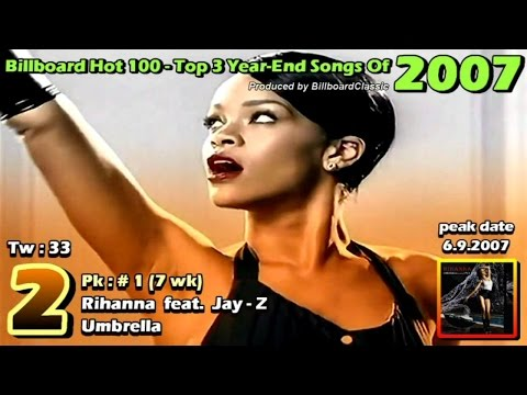 Billboard Hot 100 - Top 3 Year End Songs [ 1958 - 2015  ]