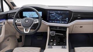 роскошный Внедорожник Нового Поколения  от Volkswagen Touareg  2019