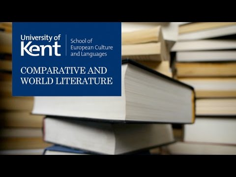 Comparative and World Literature at Kent