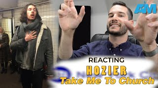 VOCAL COACH reacts to HOZIER in NY SUBWAY