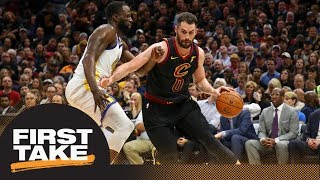 First Take reacts to Kevin Love signing $120M extension with Cavaliers | First Take | ESPN