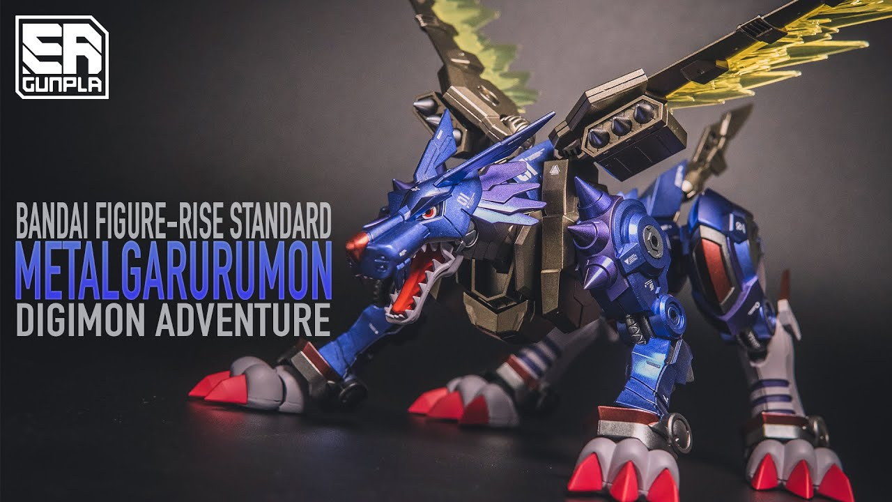 CUSTOM PAINT METALGARURUMON FIGURE-RISE STANDARD