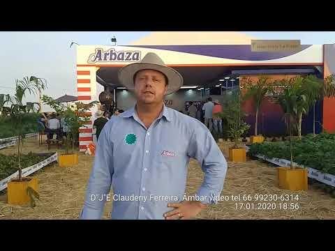 ARBAZA estava no DINETEC Canarana MT foi dia janeiro 15/16 / e 17 / 2020.