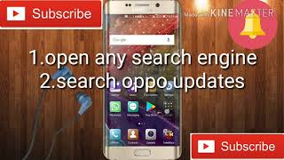 How to unroot oppo mobiles update issue (any phone neo 7,6,5 f1 f5,...) properly update 100% working