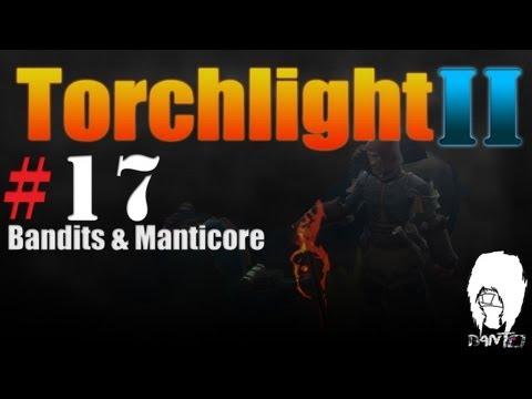 Torchlight 2 Berserker Gameplay Act 2 - Bandits & Manticore |