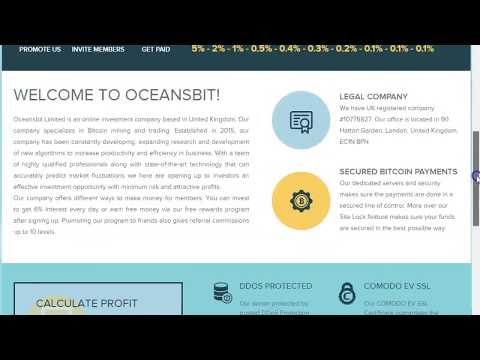 Oceansbit Trusted Bitcoin Investment Sites 2017