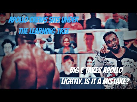 Apollo Crews Sits Under the Learning Tree (Smackdown 01/15/21)