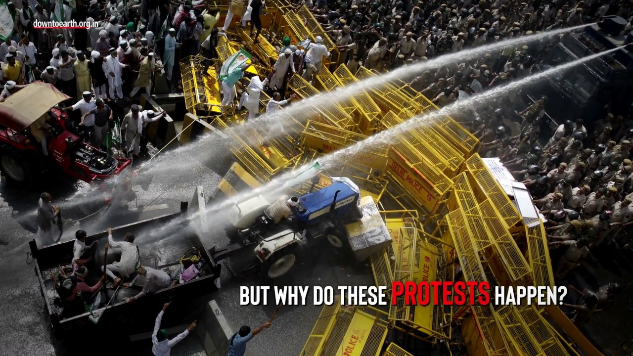 Image result for Farmers protests in India youtube